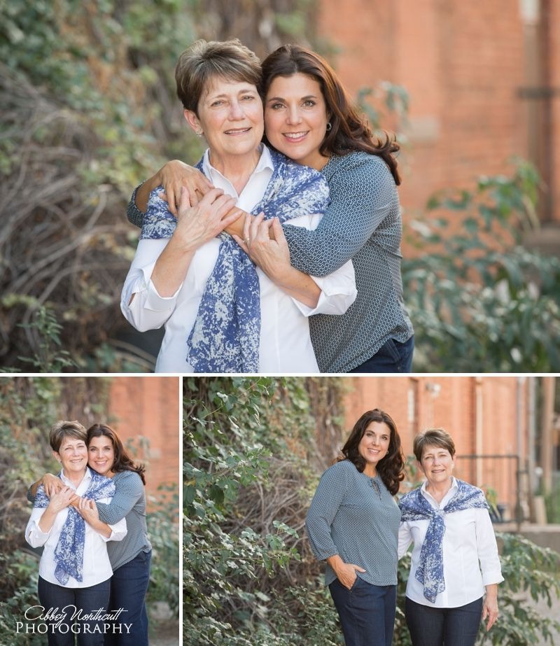 Family Mother And Daughter Poses Abbey Northcutt Photography