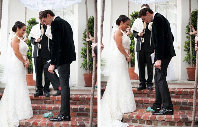 Breaking The Gl At A Quaker Jewish Wedding Interfaithfamily