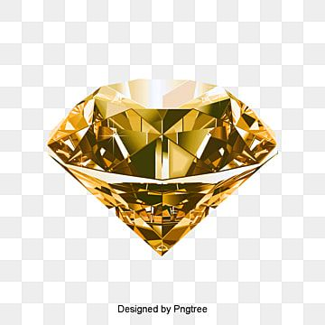 Diamond, Gold, Crystal PNG Transparent Clipart Image and PSD File for Free Download