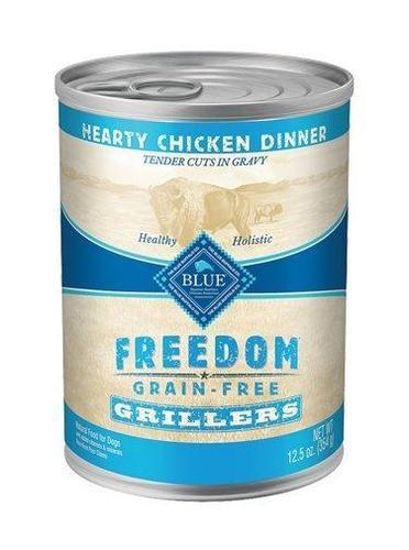 Blue Buffalo Freedom Grillers Chicken Can Dog Food 12/12.5oz