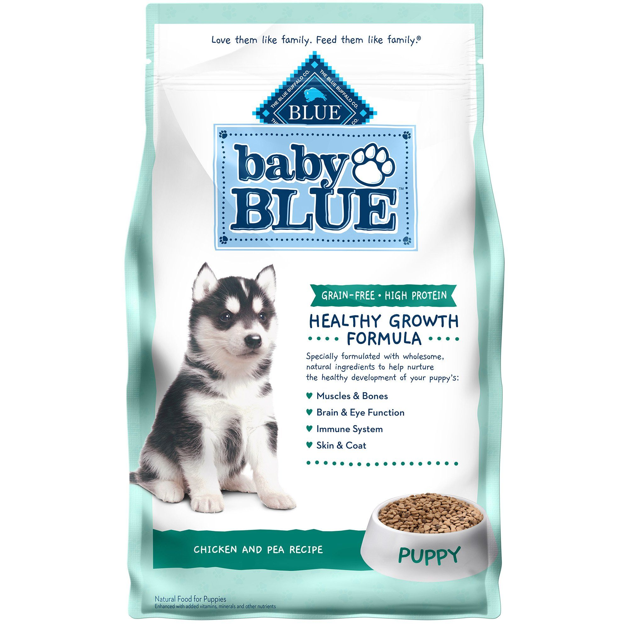 Blue Buffalo Baby Blue Grain Free High Protein Natural Chicken And