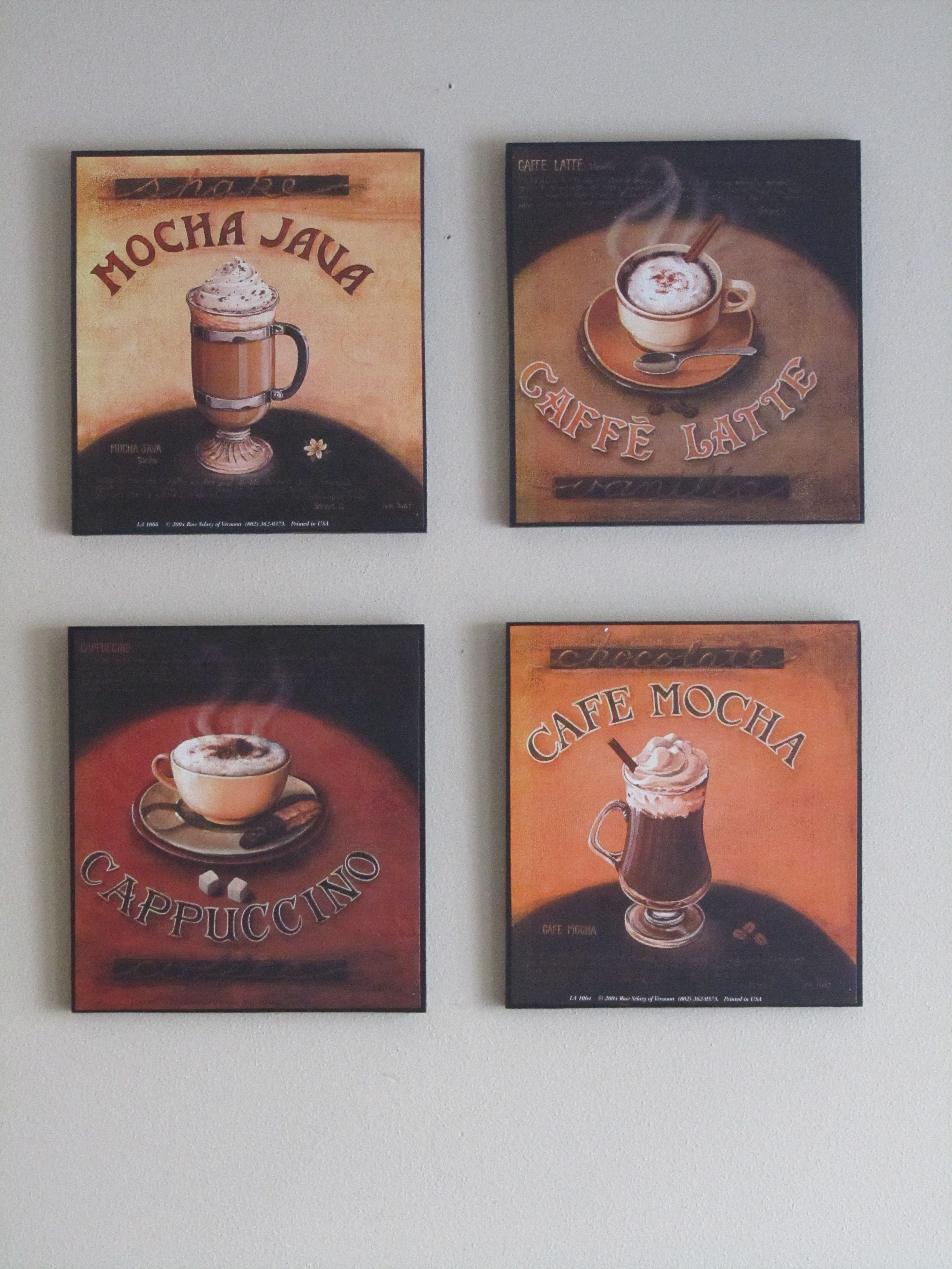 Coffee wall art brochure design pinterest coffee walls and