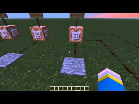 Minecraft Tutorial: Simple Command Blocks TP, Spawnpoint