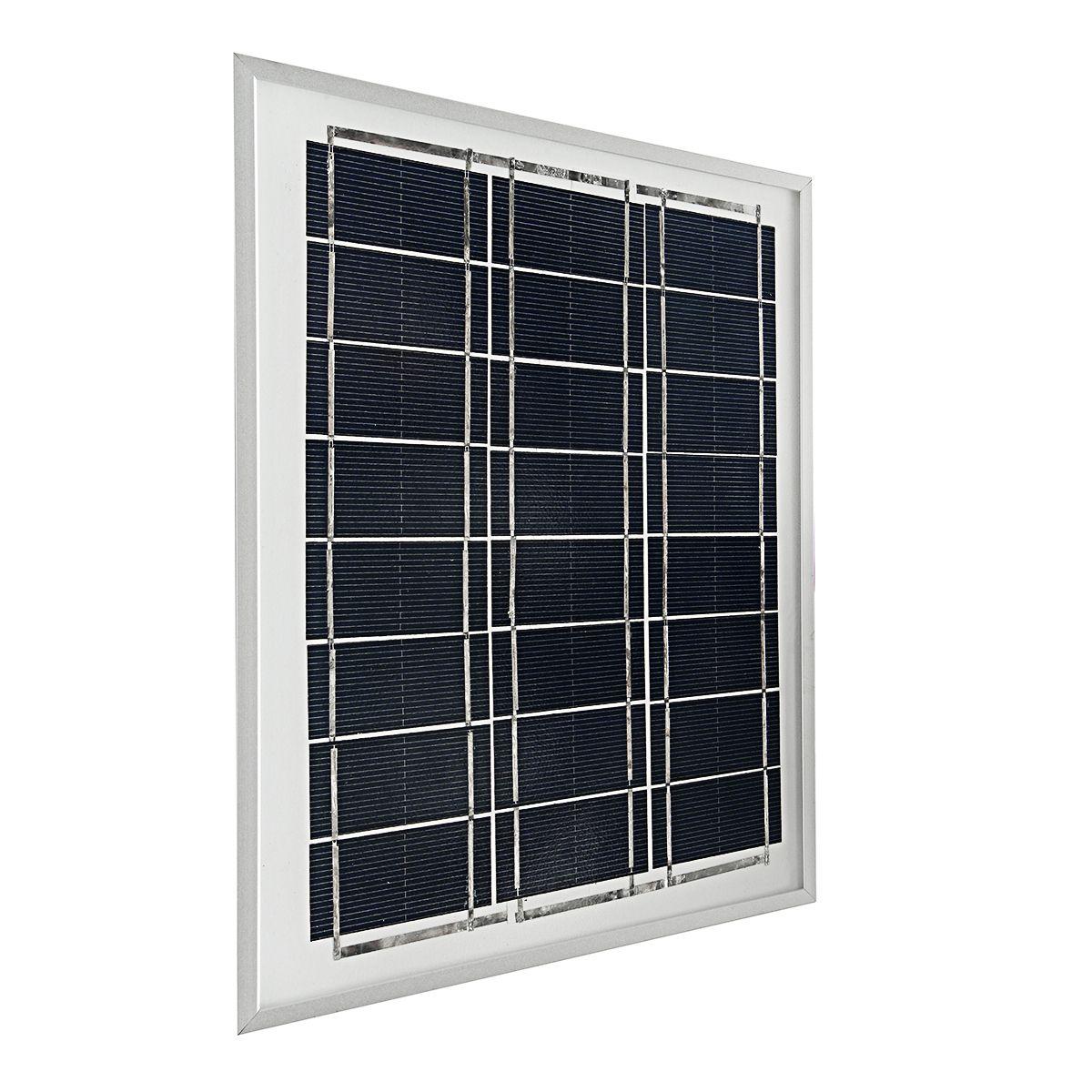 Scm Solar elfeland 12v 5w polycrystalline a class solar panel for home garden