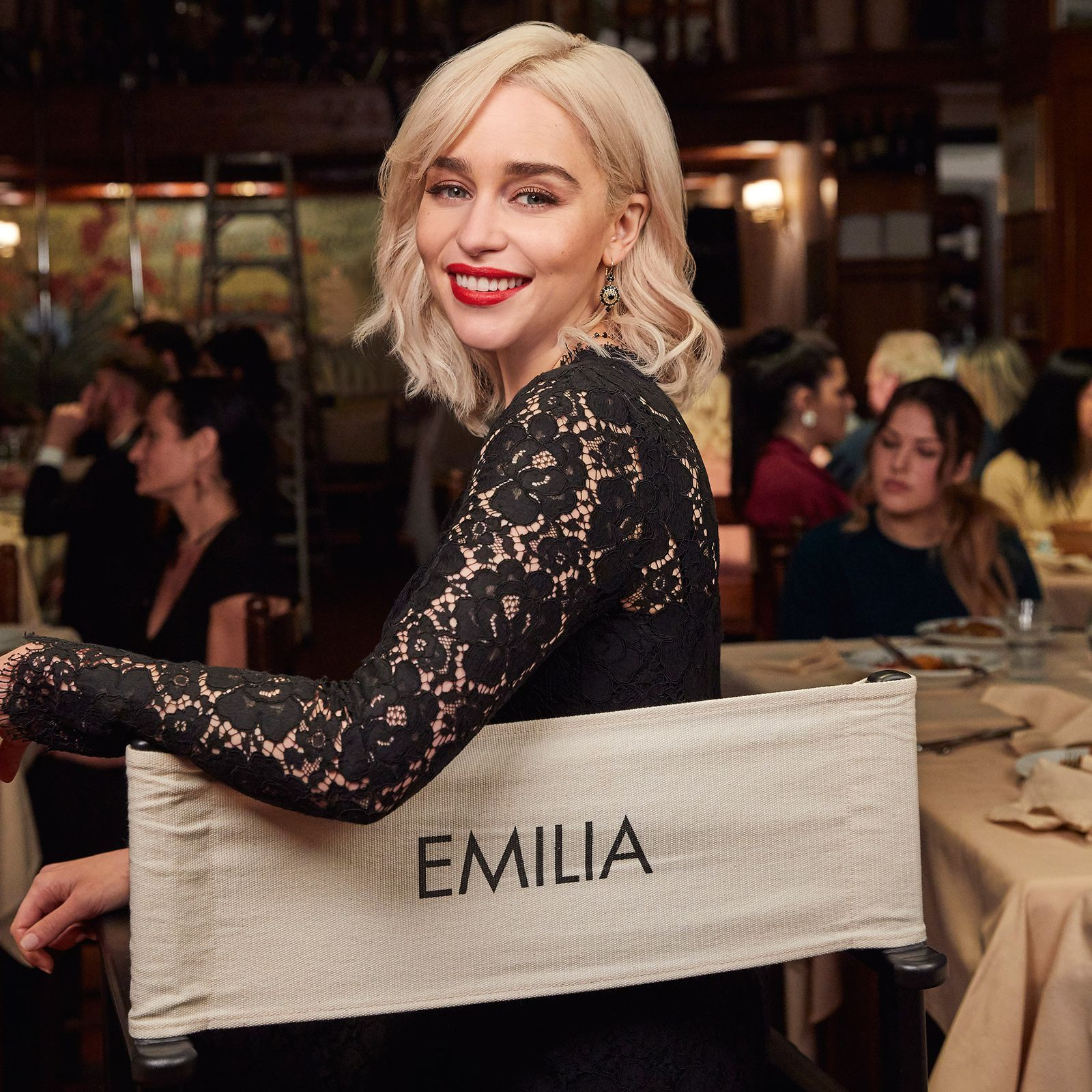 Exclusive: Emilia Clarke on finding self-confidence (and the perfect red lipstick)