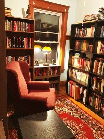 Amazing Home Libraries: 38 Amazing Home Library Design Ideas With Rustic Style