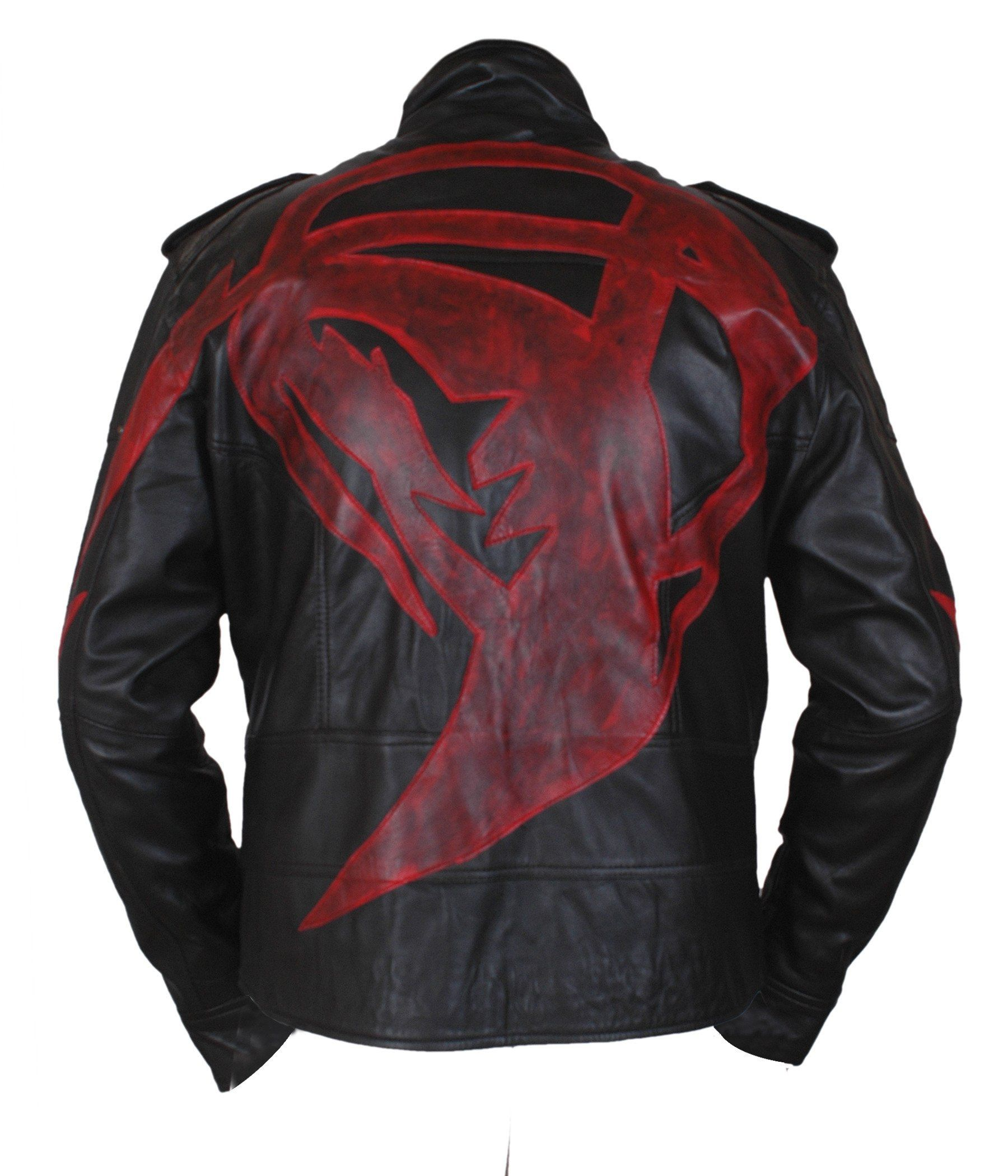 F H Boy S Prototype 2 James Heller Alex Mercer Genuine Leather Jacket Xs Black Premium Quality Medium Weight Co Jackets Leather Jacket Genuine Leather Jackets