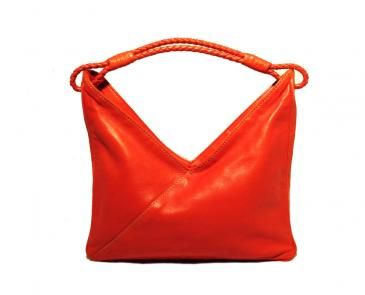 Bottega Veneta Tangerine Leather Hobo