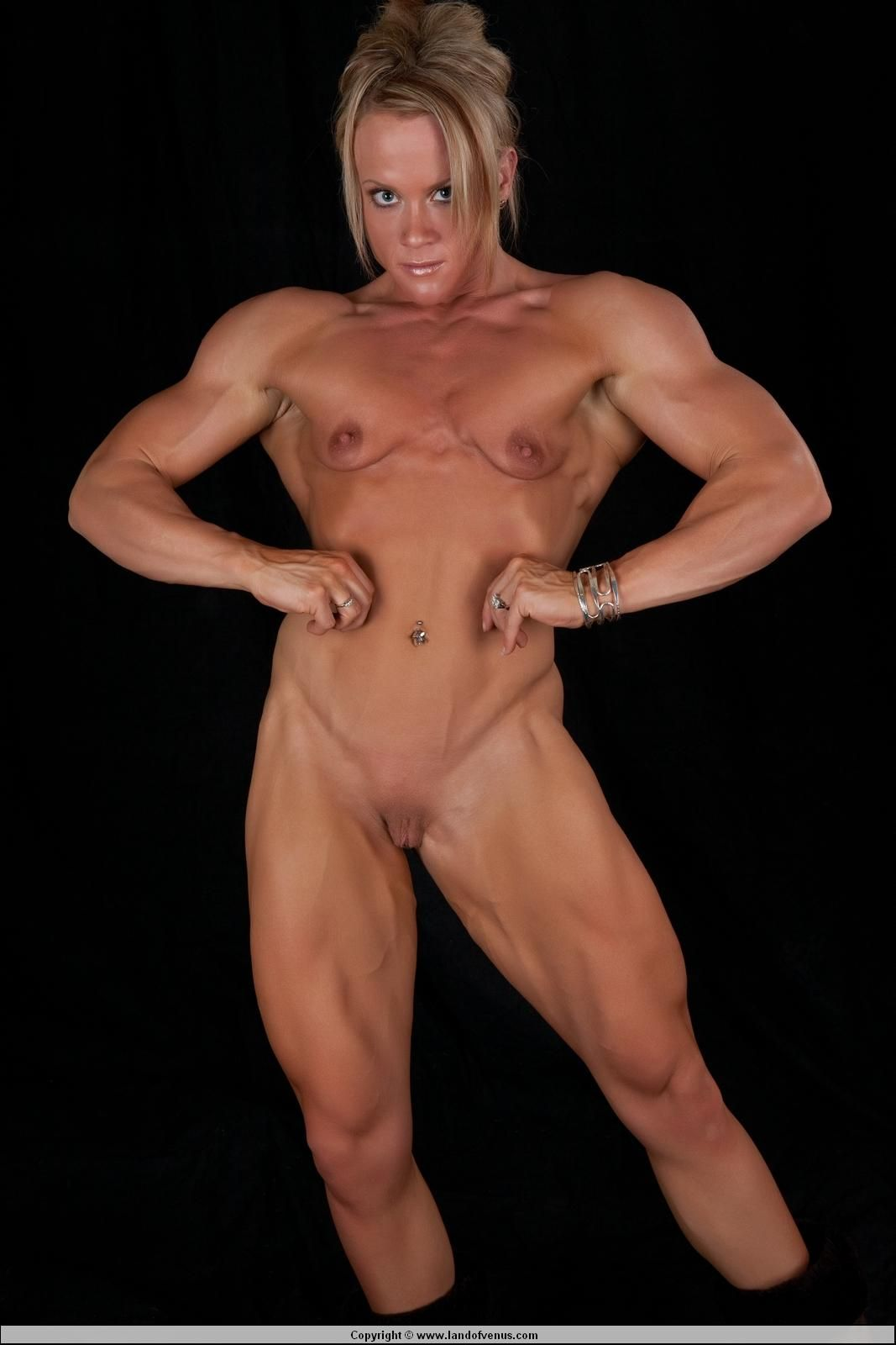 woman Naked bodybuilder female
