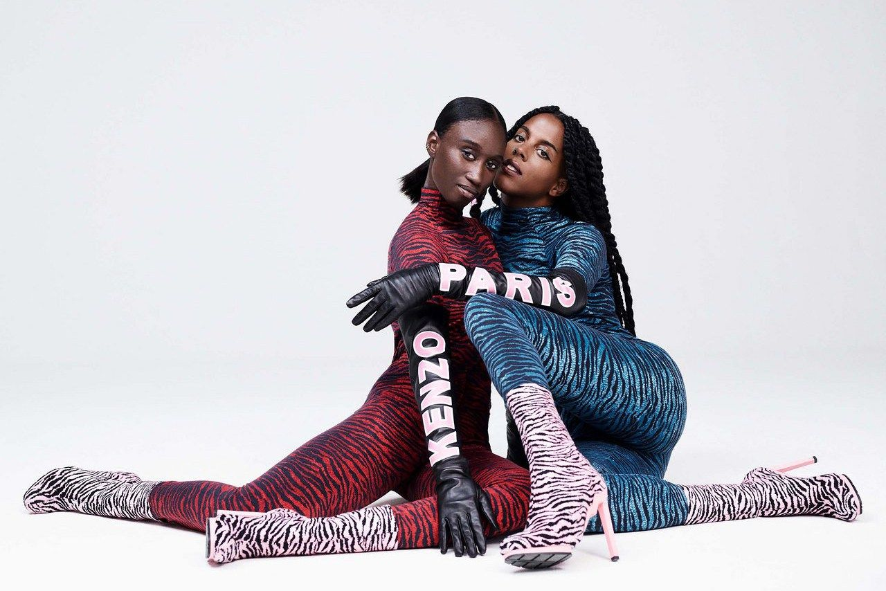 The Kenzo x H&M Collection Shows Us Colorful Tiger Prints in This First Look  https://www.hm.com  https://www.kenzo.com