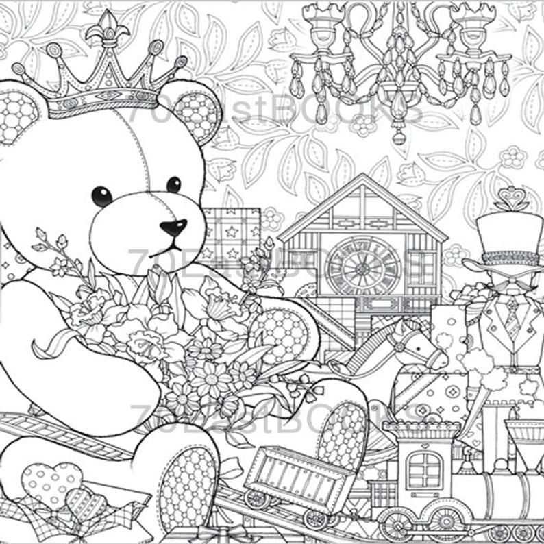 The Night Voyage The Present Coloring Book By Daria Song Etsy In 2020 Coloring Books Disney Coloring Pages Coloring Pages