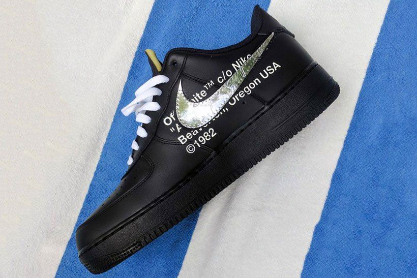 The Off White x Nike Air Force 1 Surfaces in a New Black