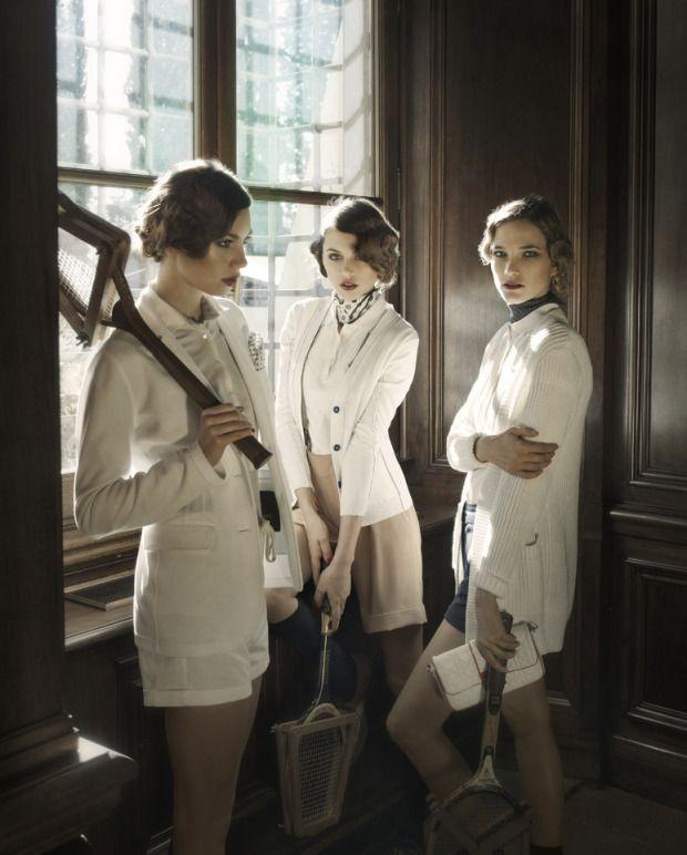 Photographer: Daniela Rettore  Fashion Director / Stylist: Gioia Carozzi #TennisPlanet www.tennisplanet.com