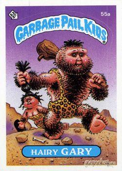 Garbage Pail Kids Caveman Original Series 2 Geepeekay Garbage Pail Kids Garbage Pail Kids Cards Pail
