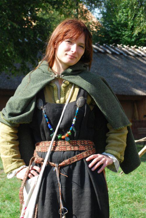 lots of viking weaving, clothes etc: http://weavedmagic.deviantart.com/gallery/
