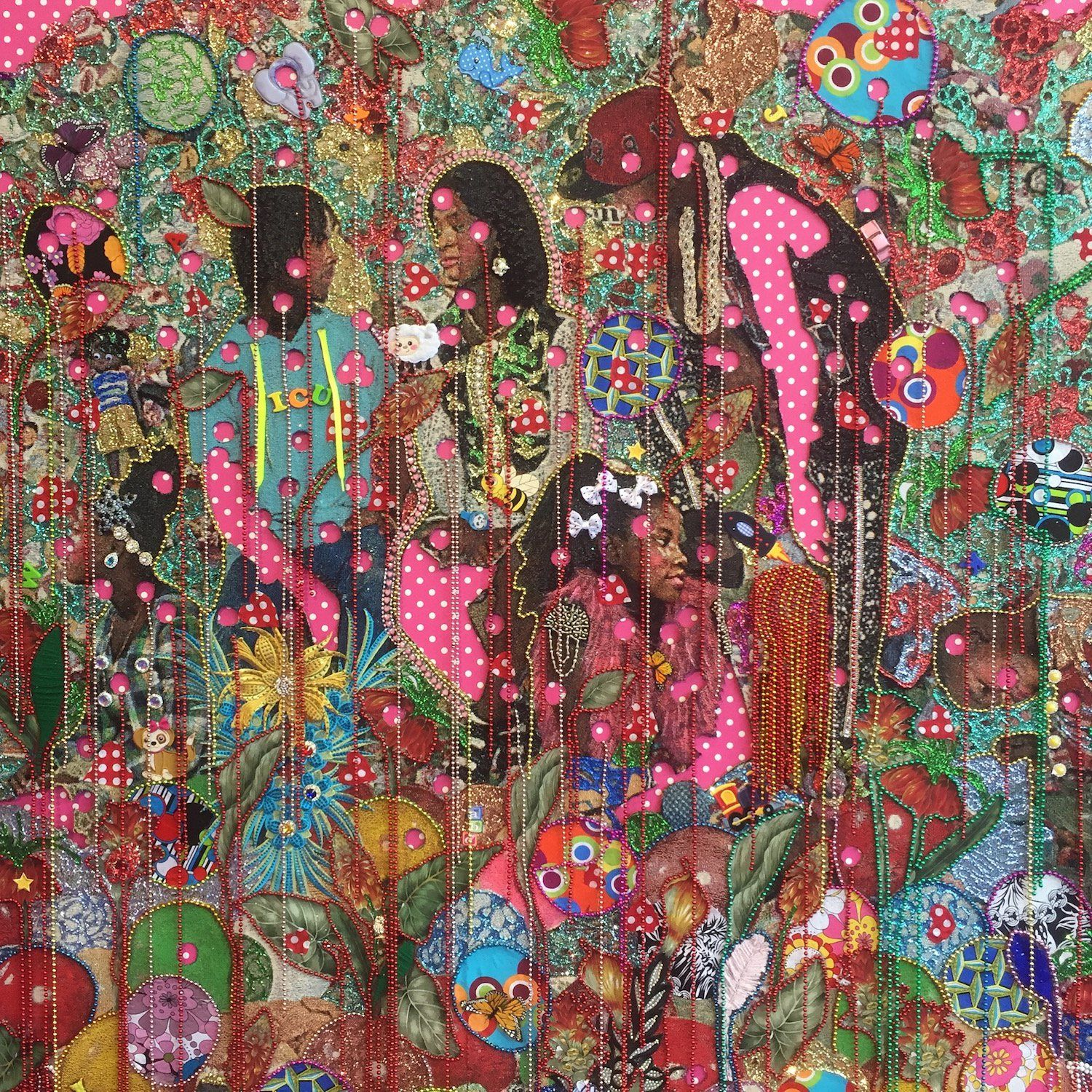 Ebony G Patterson Love When They Grow Up Detail 2016 Installed At The 32nd Sao Paulo Bienal Photo Courtesy Of The Artis Activist Art Art Artist