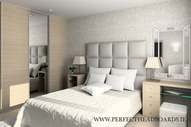 Best The Square Panelled Headboard Design We Ll Use In The 400 x 300