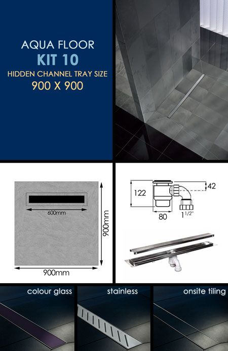 Wet Room Tanking Kit 10 With Channel Drain 84k Wet Rooms Wet