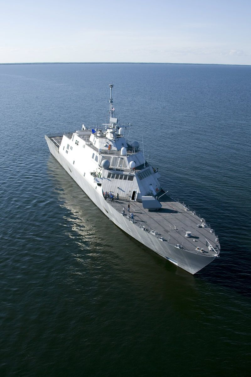 USS Freedom (LCS 1) of the Lockheed Martin Freedom Class
