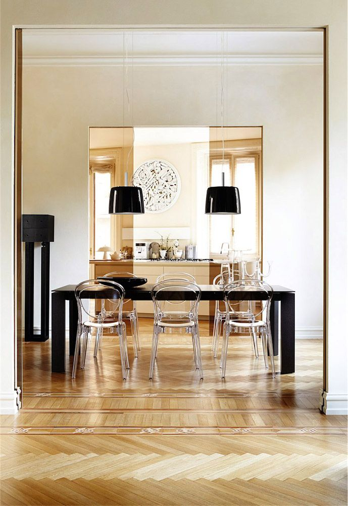 Calligaris Parisienne Dining Chair Suitable For Indoor Or