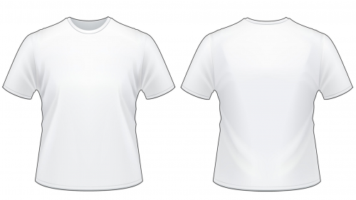 Blank Tshirt Template Worksheet in PNG | Picture editor, Worksheets ...
