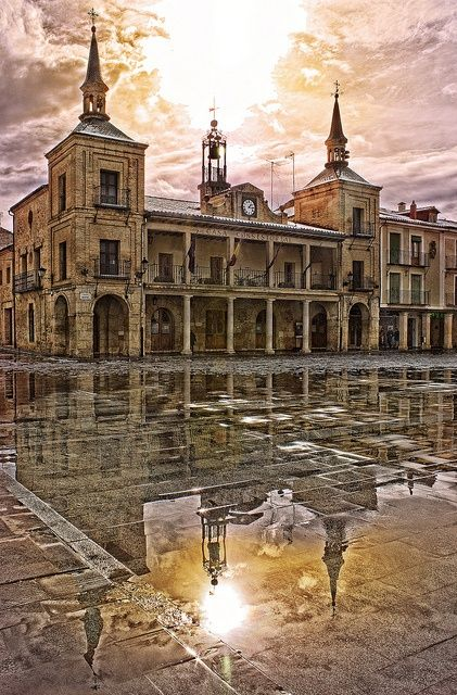Soria in the autonomous community of Castile and León, Spain ...