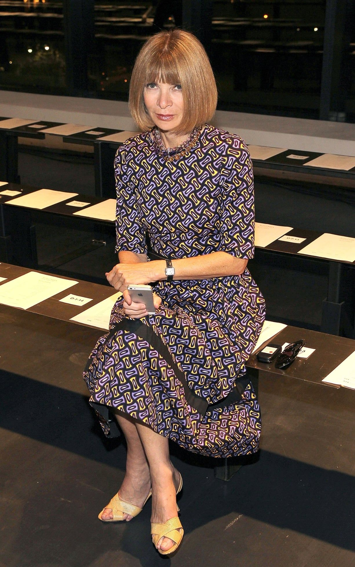 Every outfit Anna Wintour wore during New York fashion week 2014 | Fashion | The Guardian