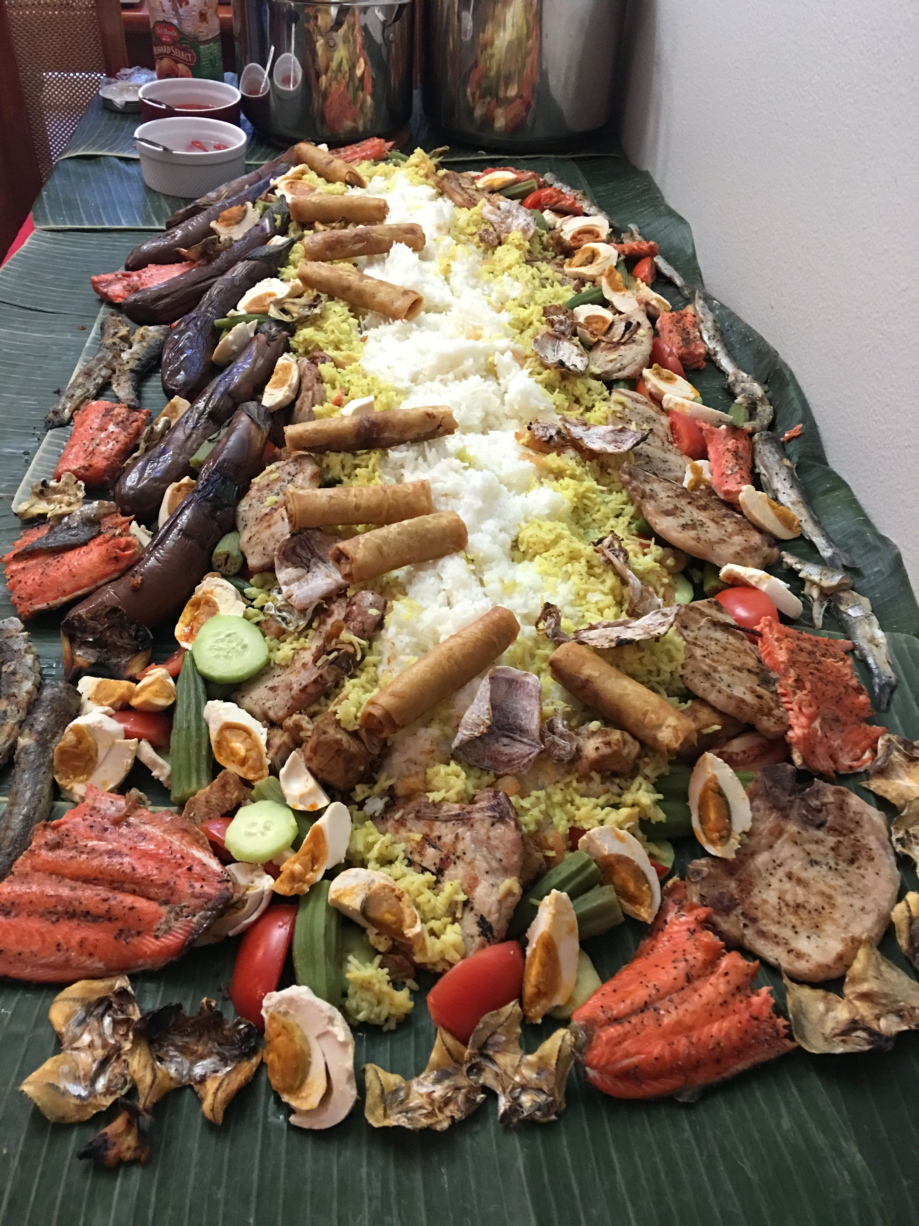 Boodle Fight Asian Food In 2019 Boodle Fight Filipino