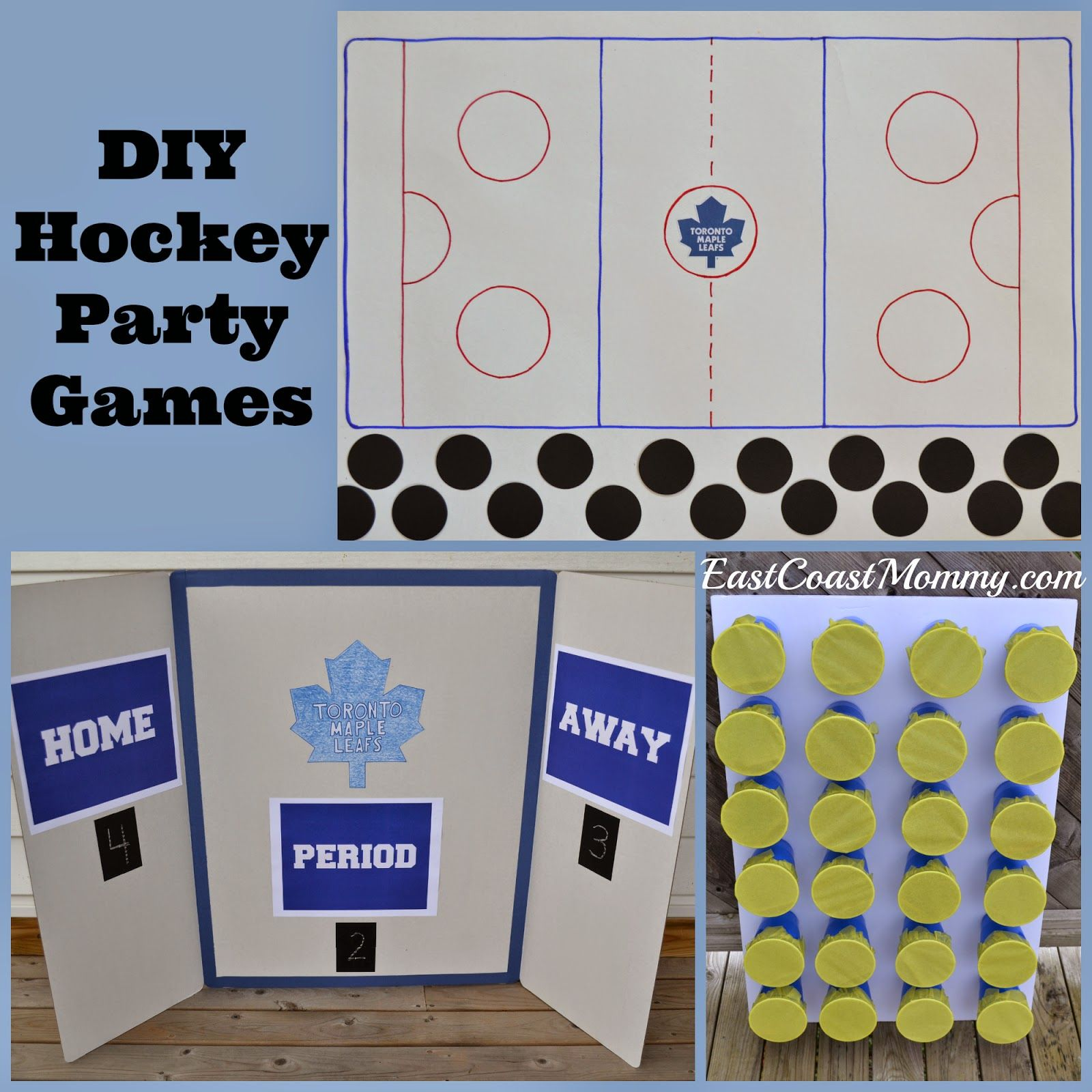 Hockey Party Games | Halloween, Party guests and Scavenger hunts