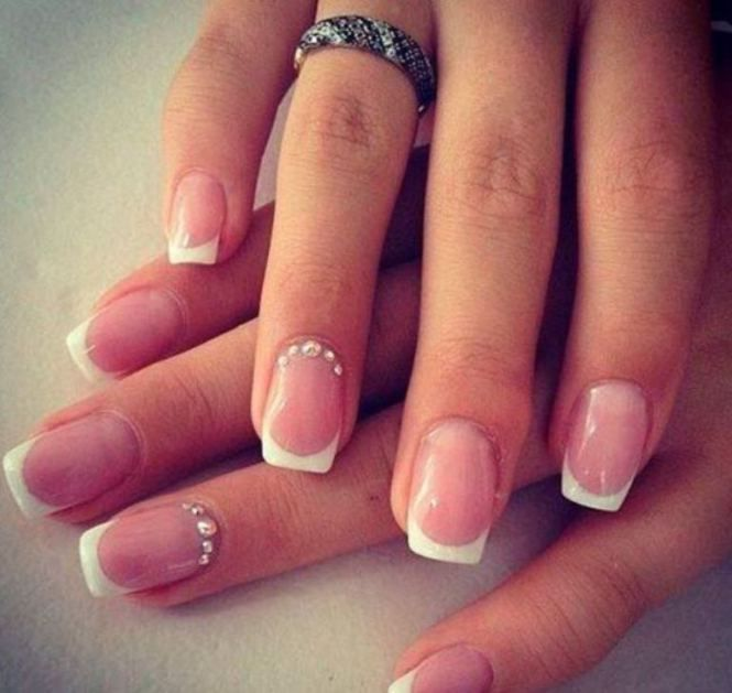 Simple-Elegant-Inspirational-Wedding-Nail-Art-Design-Ideas.jpg (665 ...