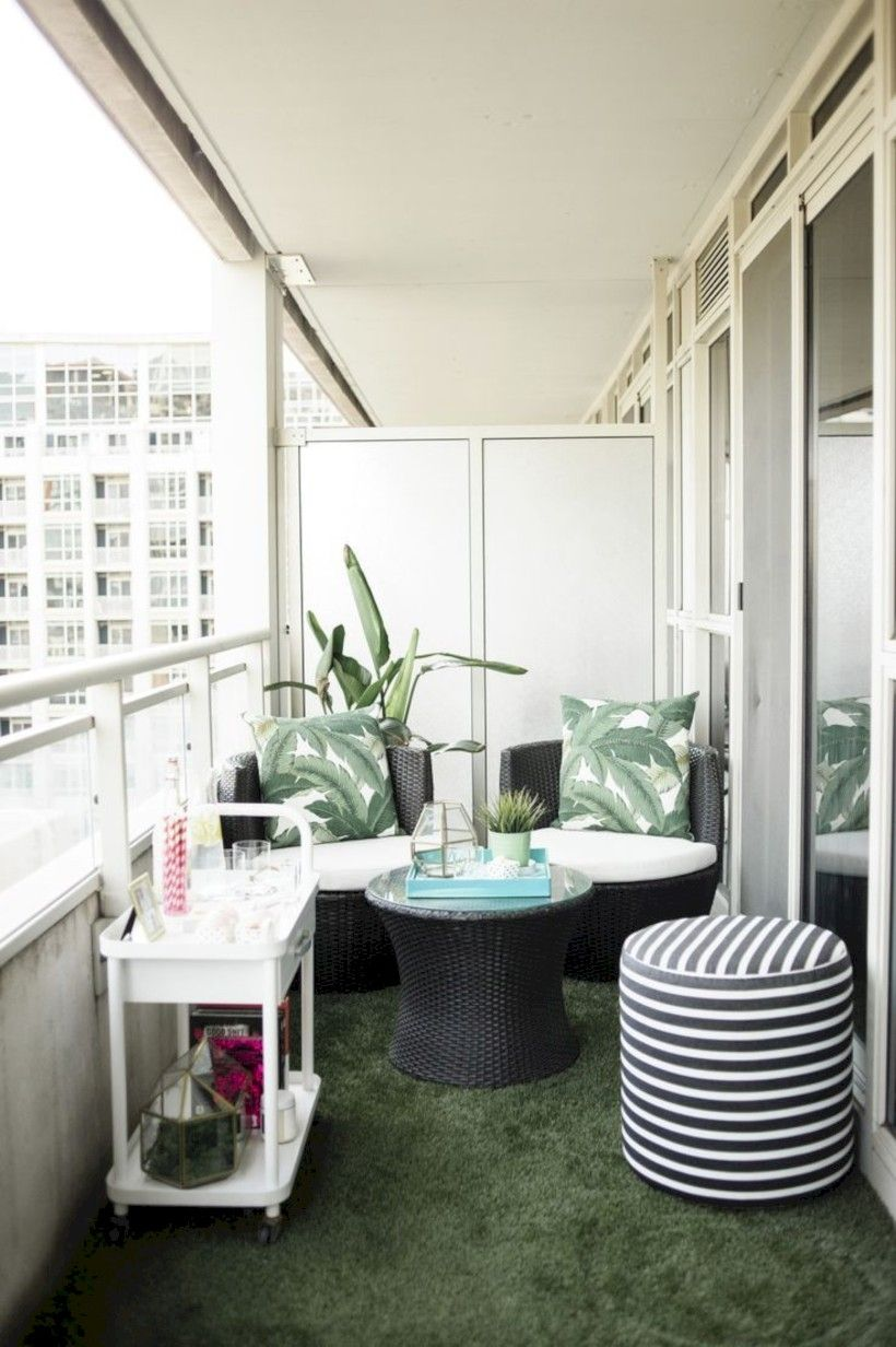 42 Creative Small Apartment Balcony Decorating Ideas On A Budget images