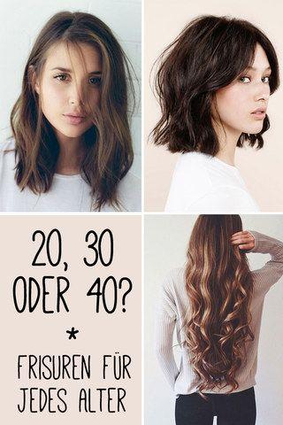 20, 30 oder 40? Das sind die schönsten Frisuren für jedes ...