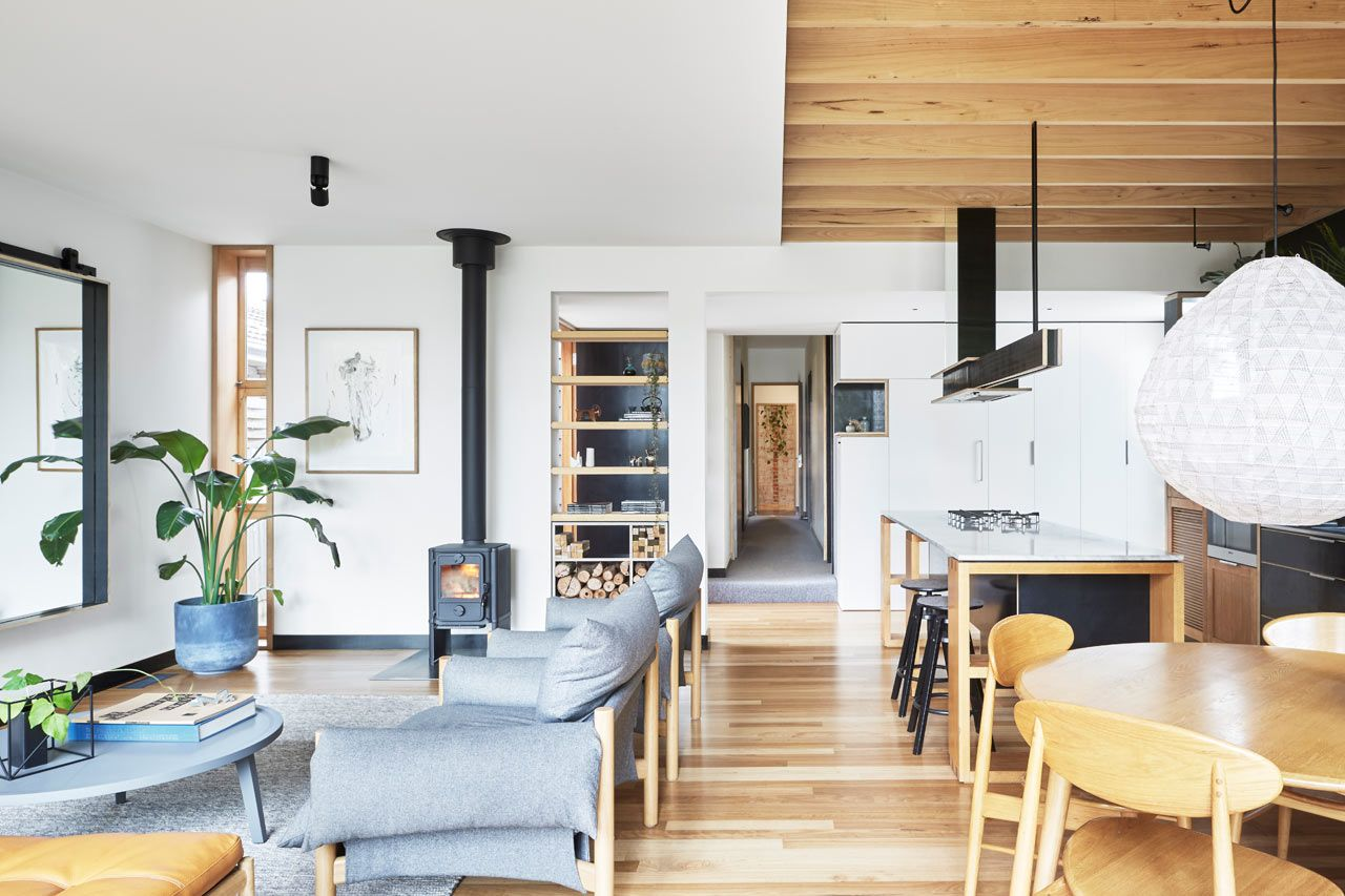 A Turn Of The Century Victorian Gets Modern Extension