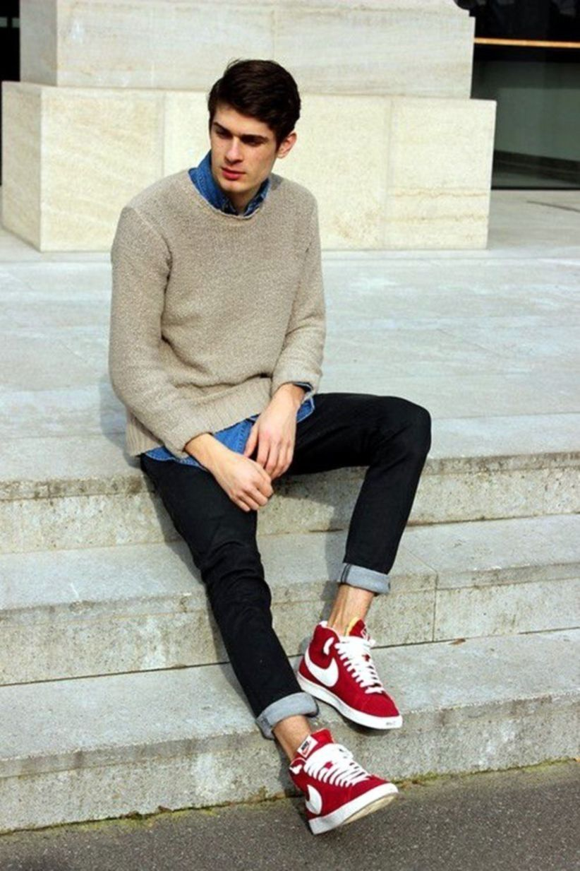 45 Cool Teen Fashion Look for Boys in 2018 - attirepin.com. Teen  FashionFashion MenFashion LooksNike ShoesMan StyleStreetwearOotdTeenager ...