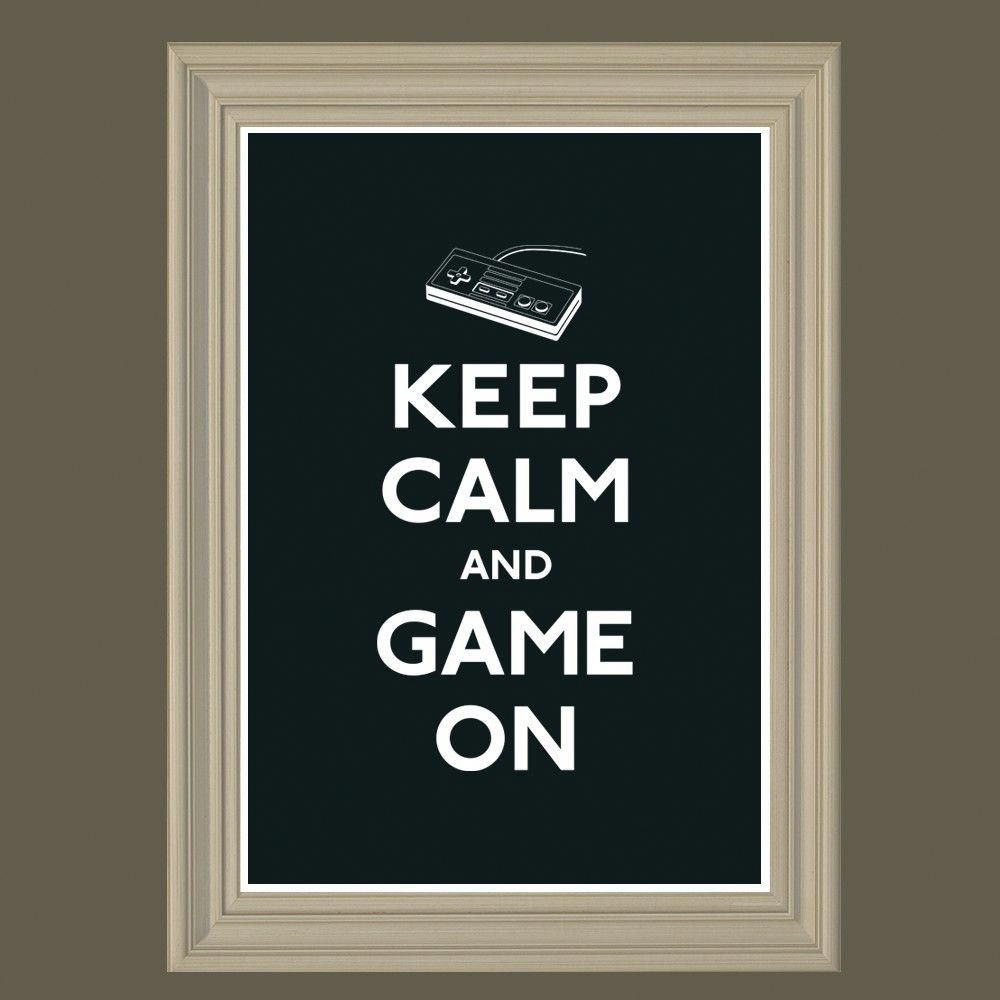 Game Room Poster Brilliant Gamer Keepcalm Nintendo Gameroomdecoradult Game Room Room Posters Game Room Family