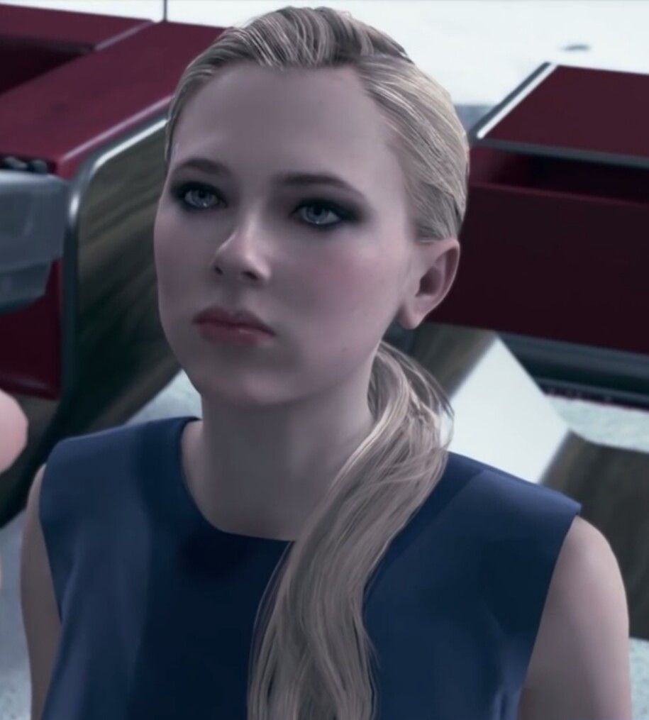 Detroit Become Human Model For Chloe The Art Of Mike Mignola