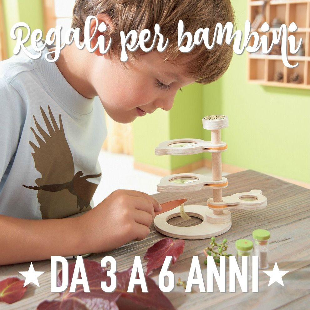 Regali per bambini di 3, 4, 5, 6 anni | Regali bambina, Bambini e