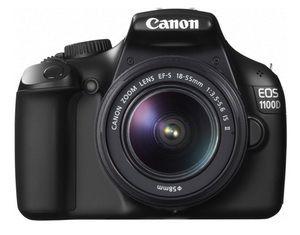 Digital Kameras Canon EOS 1100D + EF-S 18-55mm Schwarz (250 - 999,99 €) von Expert Technomarkt