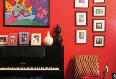 Decoración con Pianos