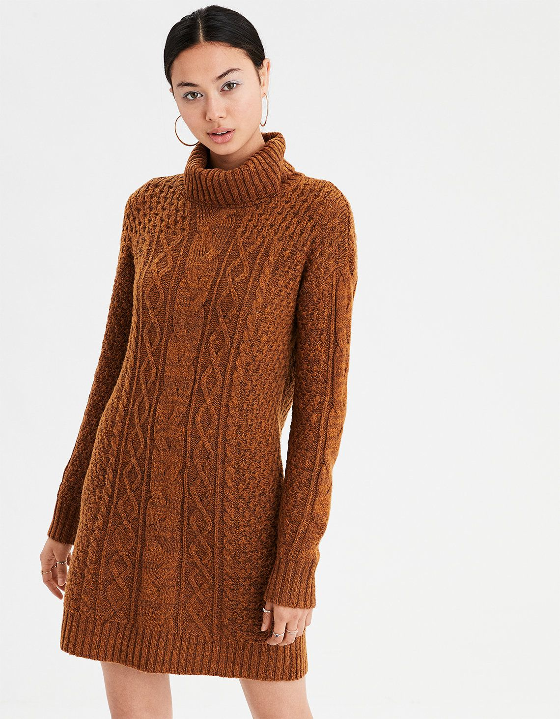 45+ Cable knit sweater dress information