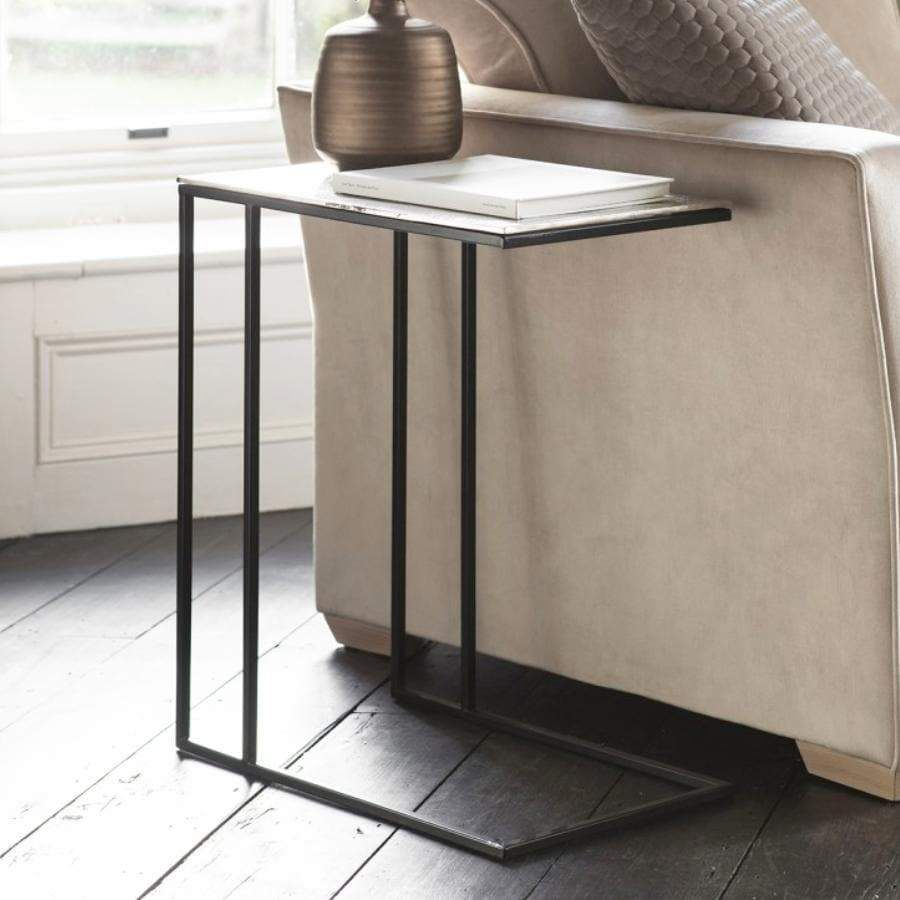 l shaped side table