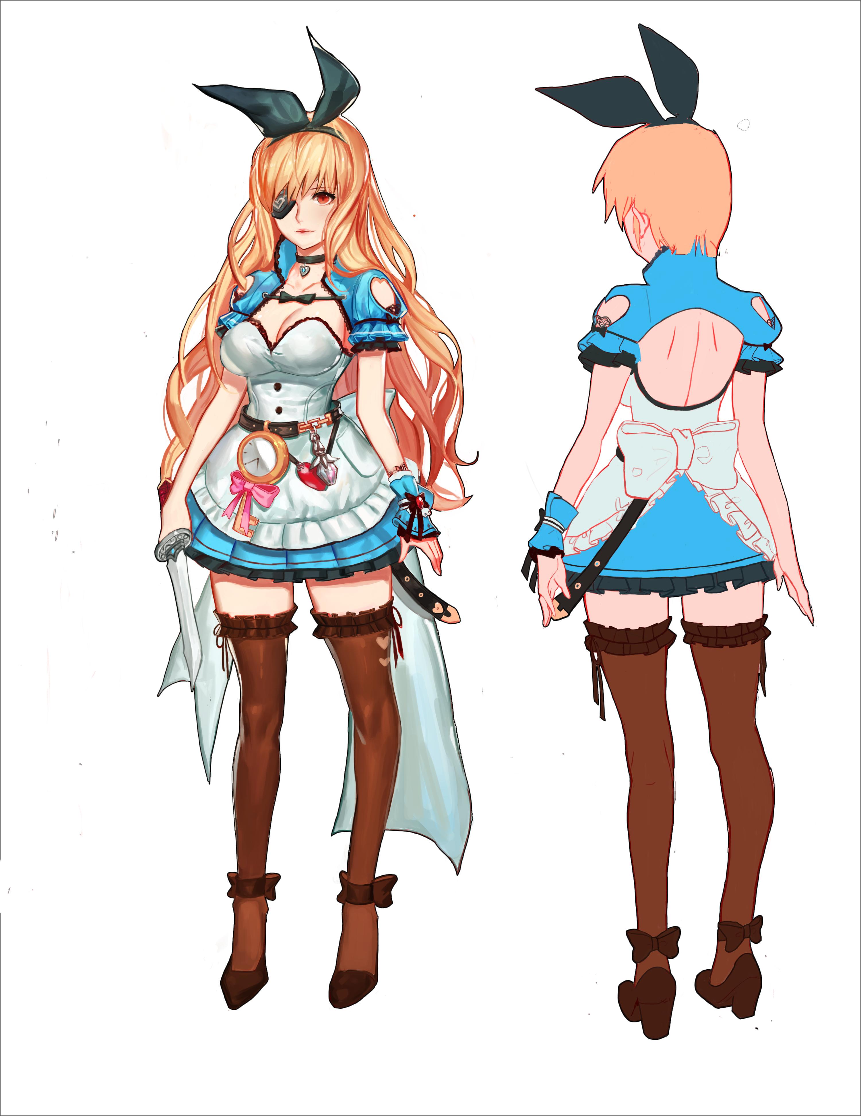Pin on Anime Girls Blonde/Orange Hair