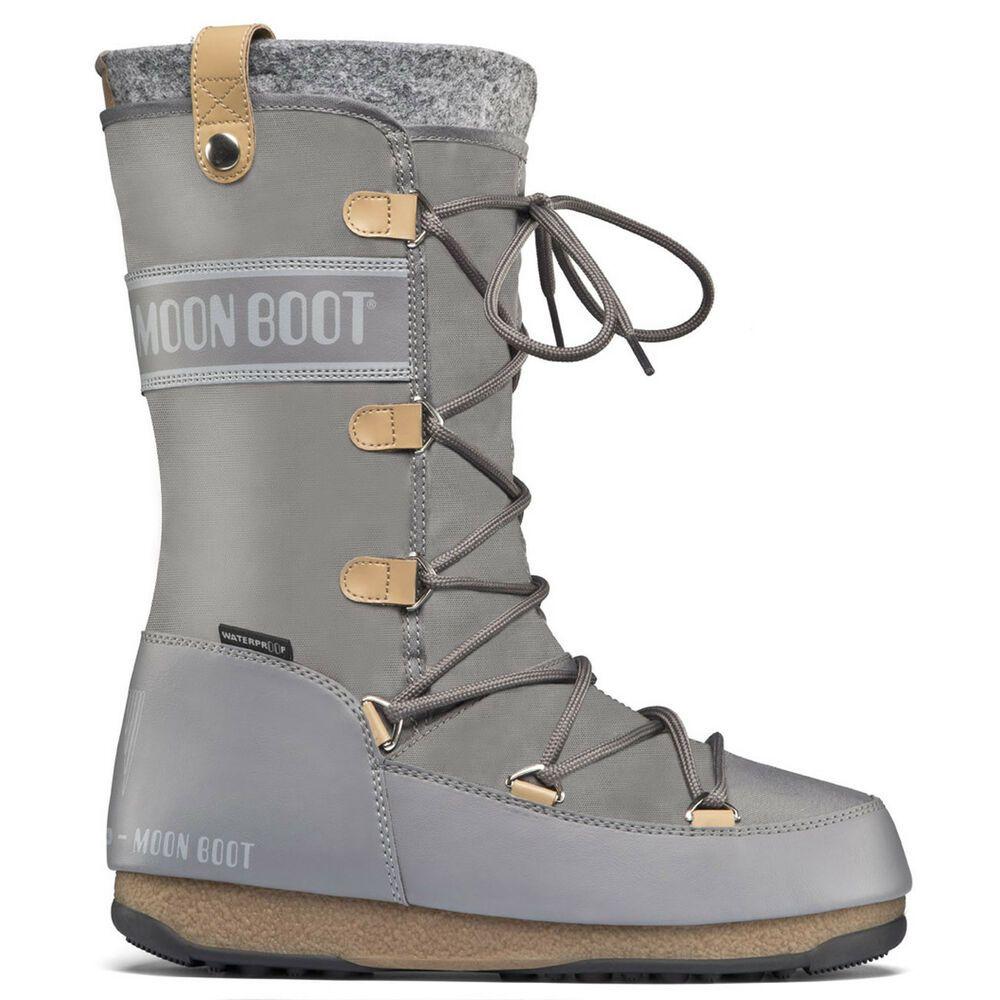 outlet store ed0c7 294c4 Womens Original Tecnica Moon Boot We Monaco Felt Winter Knee ...