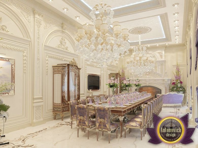 Dining Room Design In Dubai Luxury Dinning Photo 1