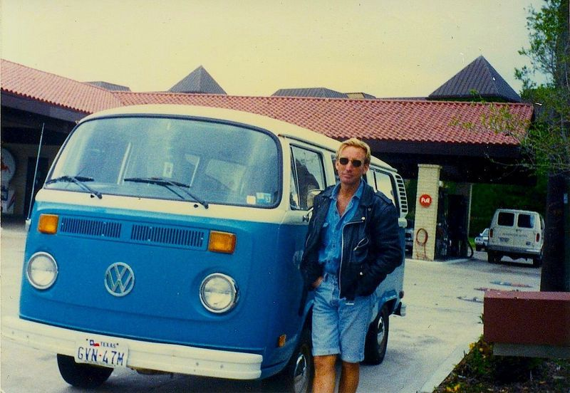 1977 VW Bus. - bought one of these brand new.