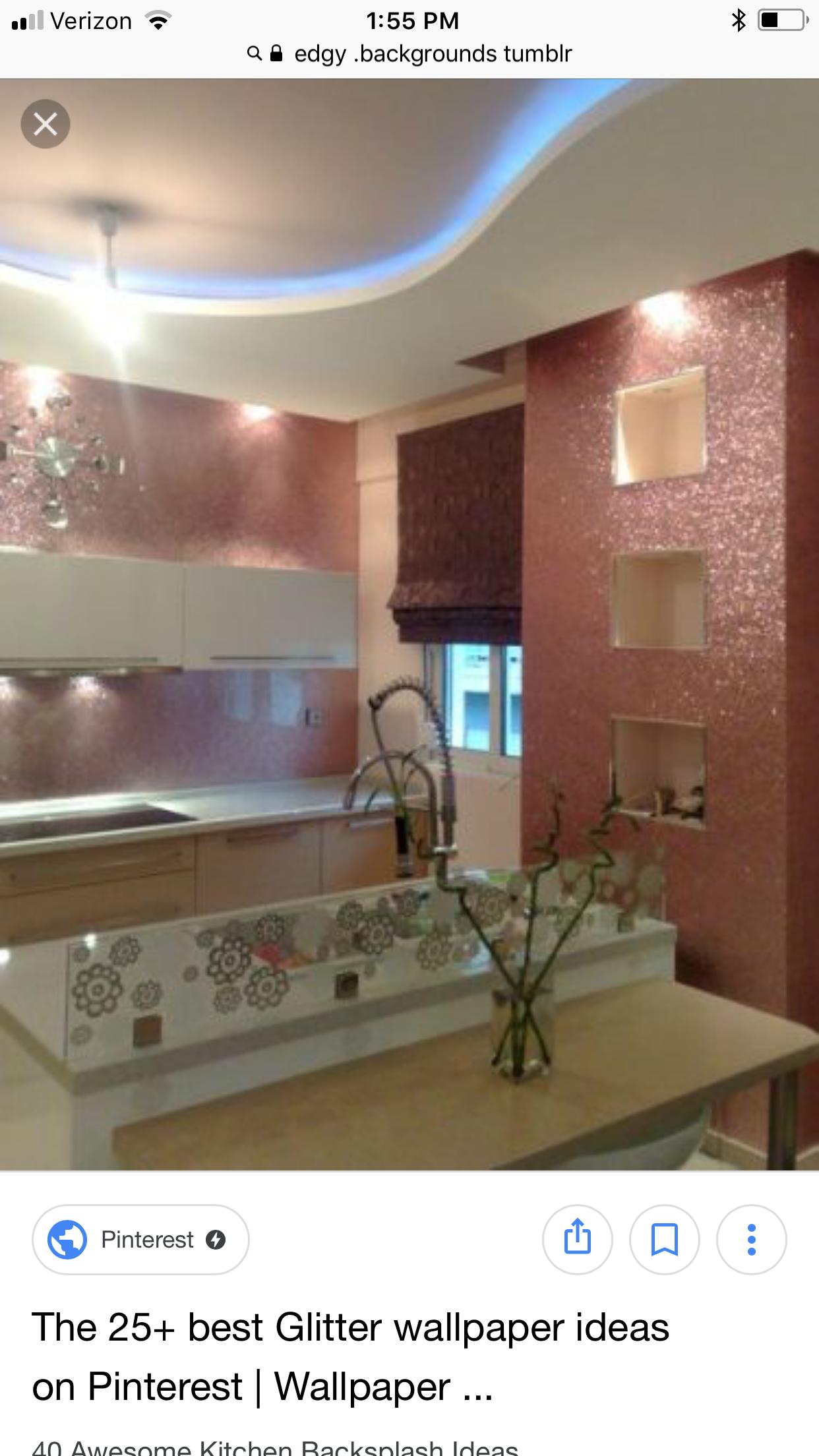 - Pin By Koko Silva On Room/House Ideas Glitter Wallpaper Bedroom