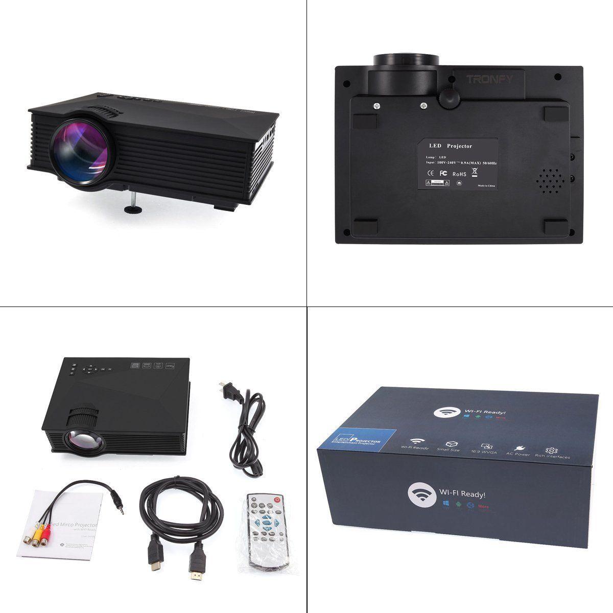 Amazon.com : Tronfy WiFi Wireless 800x480p Full Color 130\