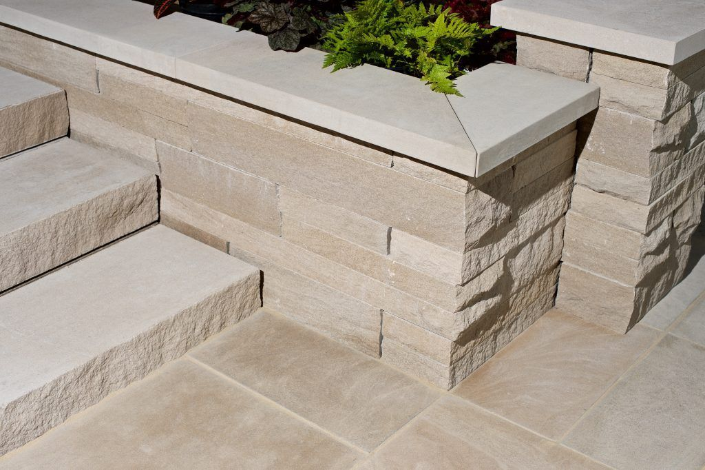 Indiana Limestone Pavers Wall Coping Caps And Treads Indiana Limestone Co Limestone Wall Limestone Pavers Garden Wall