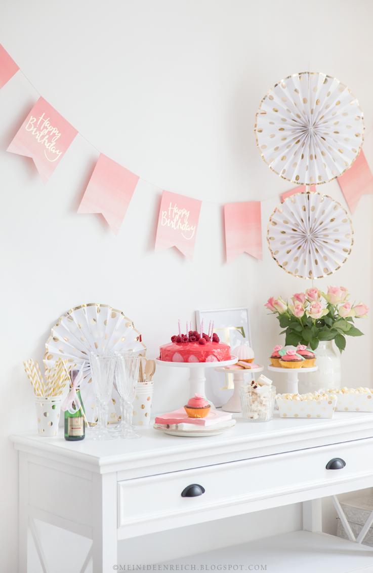 Mein Ideenreich: My Birthday Party & The Winner is...