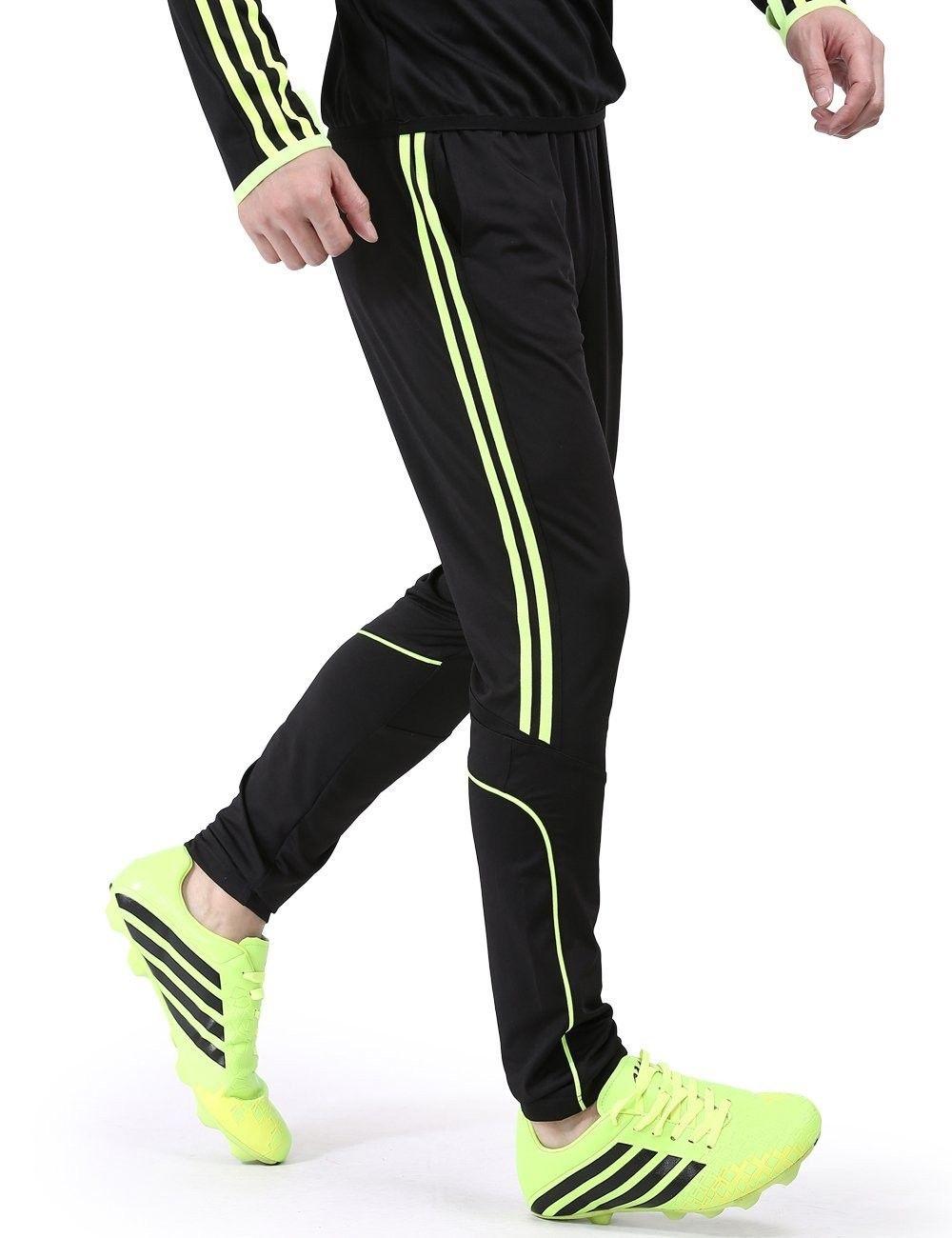 Soccer Athletic Training Pants Pants0002 Green M Green